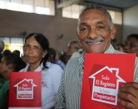 Titulación de viviendas y lefalización de asentamientos, ahora es más fácil