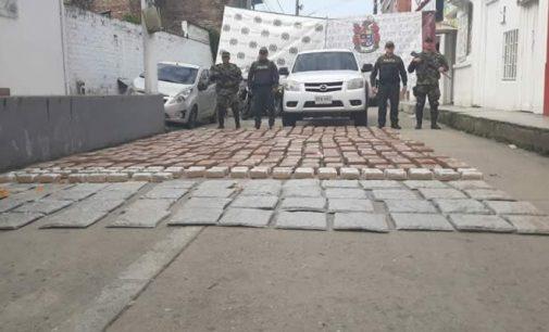 En La Plata, transportados 828 kilos de marihuana Cripy en una camioneta
