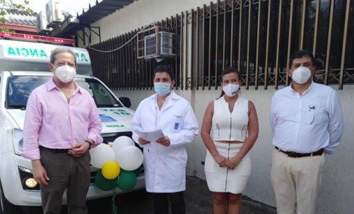 Nueva ambulancia para la ESE Cármen Emilia Ospina