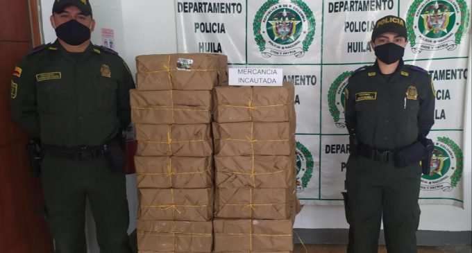 Incautadas más de 4 toneladas de panela falsificada en Isnos