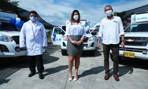 Nuevas ambulancias para el sistema sanitario neivano
