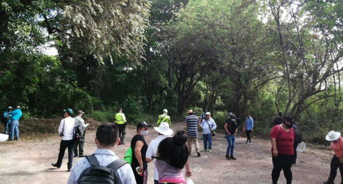 Visita de reconocimiento al Parque Isla