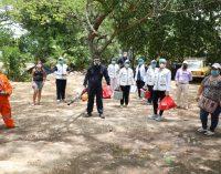 Control al dengue y leishmaniasis en el barrio Bajo Chicalá