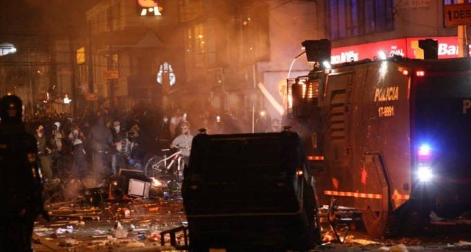 Recompensa por asesinatos ocurridos en disturbios en Bogotá