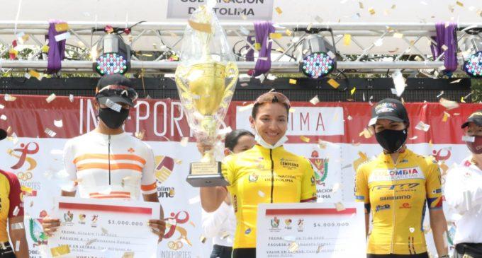Ciclista huilense y su victoria en el Tolima