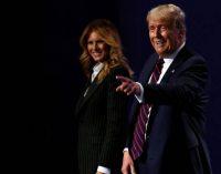 Trump y su esposa, con COVID 19