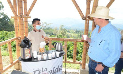 Ruta mágica del café se articula en el centro del Huila