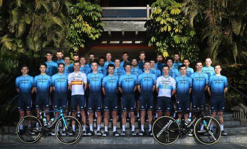Presentado el equipo Astana con Harold Tejada en la nómina