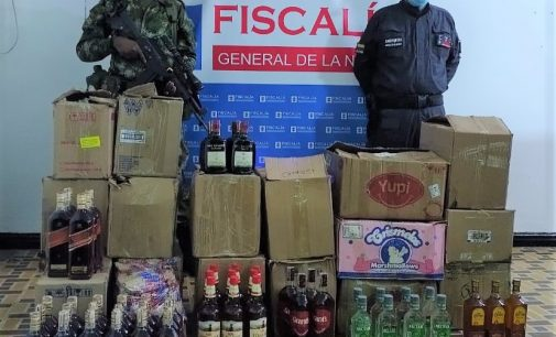 Incautado licor de contrabando en Garzón