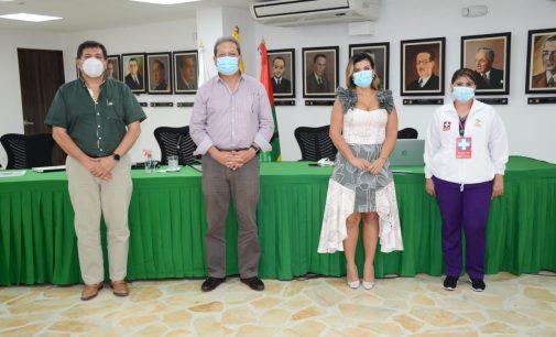 Gobernación socializó su plan de vacunación conta el COVID 19