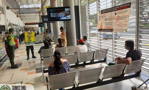 Campaña contra el homicidio en el Terminal de Neiva