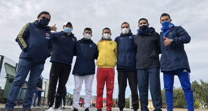 Marchistas del Huila hicieron el 1 – 2 en Portugal