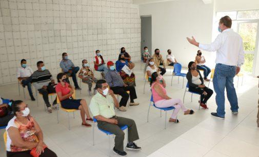 Socializado proyecto de vivienda en el barrio Panorama