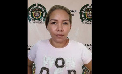 Capturada mujer por orden judicial