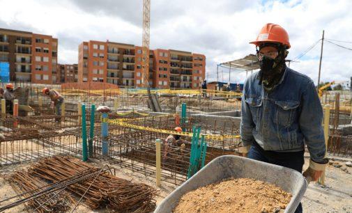 Sector construcción generó más de un millón de empleos en Colombia