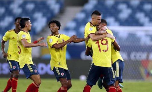 Victoria de Colombia ante Ecuador por la Copa América