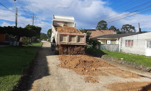 Trabajos en Pitalito para superar la emergencia invernal