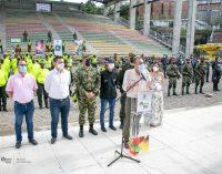Presentado fuerte esquema de seguridad en Neiva