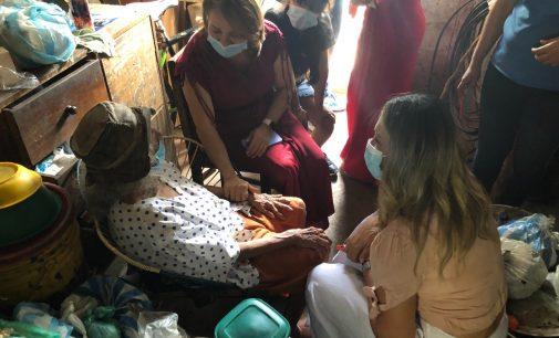 Rescatada adulta mayor en pésimas condiciones sanitarias