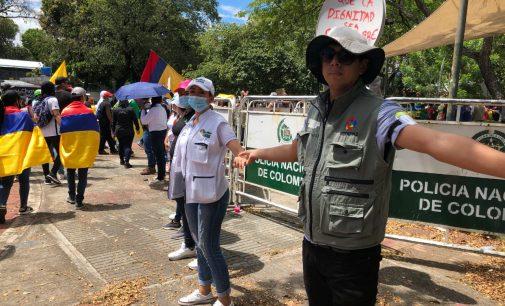 Adoptadas medidas en Neiva con motivo de las marchas