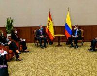 Comenzó visita presidencial a España