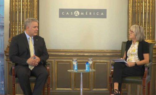 Materializada inversión española en Colombia