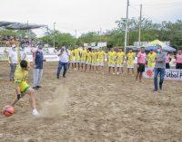 Se cumple eliminatoria de fútbol playa en Neiva