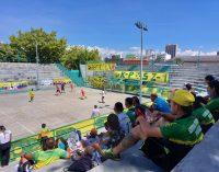 Torneo de fútbol de salón entre barras del Atlético Huila