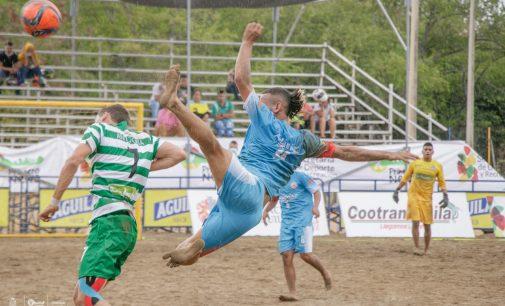 Positivo balance de eliminatoria de fútbol playa