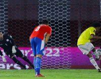 Colombia empató con Paraguay