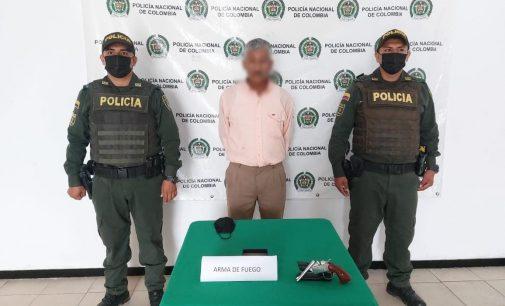Capturado hombre armado en Rivera